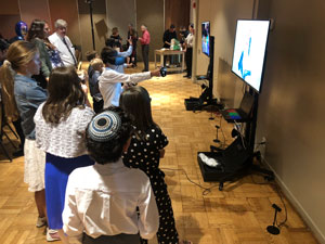 Bat Mitzvah, Virtual Reality, lazer tag, zombie, activities